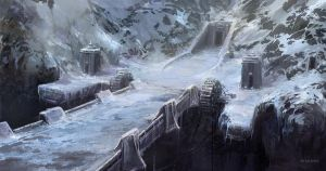 Ice Fortress by Rukkits