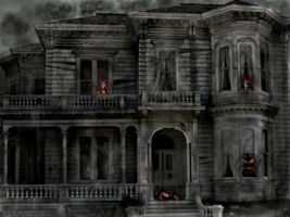 HOUSE OF HORROR STORIES by COLOREDINLOVE