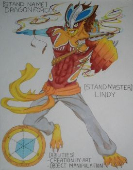 [STAND NAME] DRAGONFORCE by DragonLindy