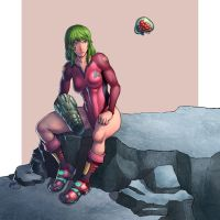 Metroid (Justin Bailey) by TheUnknownN64