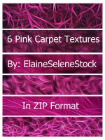Pink Carpet Texture Pack by ElaineSeleneStock