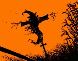 year one scarecrow wall paper by AcE-oFkNaVeS