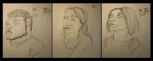 Contour People by Little-Bluefish