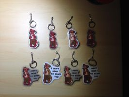 Innocent Foxy ((KEYCHAINS 4/8 AVAILABLE)) by CassMutt