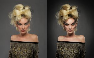 Before After Wicked by PorterRetouching