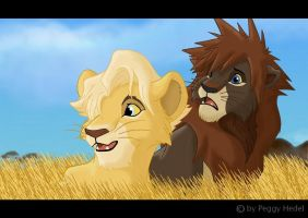 Sora as a lion king by Pichu-Chan