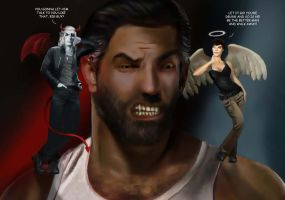 Angel On My Shoulder by LJ-Phillips