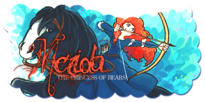 Merida, Princess of Bears by romansalad