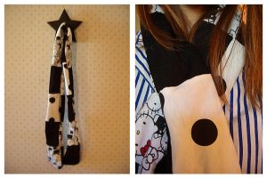 Hello Kitty Scarf by deconstructedstars