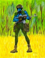 Rogue Trooper in Color by 12jack12