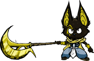Mini Warrior Anubis by runde