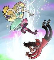 Star Vs The Forces Of Evil by azulmimi99