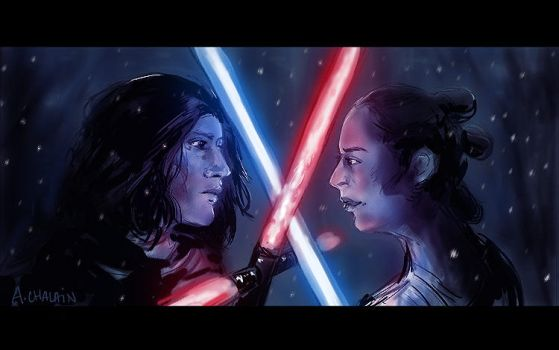 STAR WARS - The force is strong by Anshealyn