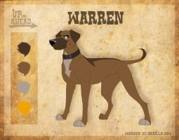 Warren - Character Sheet by Skailla