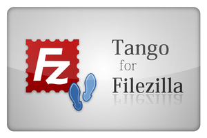 Tango Icons for FileZilla FTP by maik