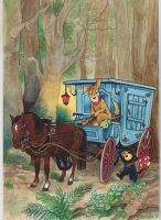 Georgie and the Wagon by DianaKennedy