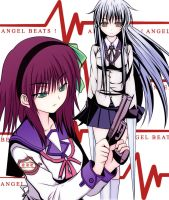 Angel Beats Fanart : My Enemy by BlazingWarlord