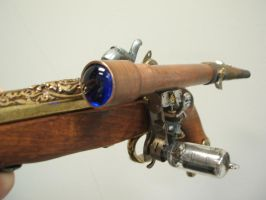 Steampunk Flintlock Pistol 2 by Frijoleluna