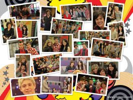 iCarly One Direction Wallpaper by iluvlouis