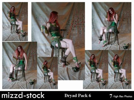 Dryad Pack 6 by mizzd-stock