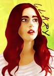 Clary Fray - The Mortal Instruments by itsmichelee