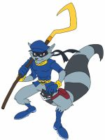 Sly Cooper by delvallejoel