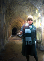 Slytherin Student by IoniaFreak