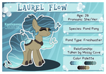 Laurel Flow - Reference Sheet by Kazziepones