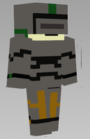 minecraft character, knight by ROBLOXgeneralduncan