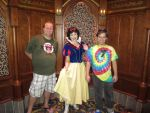 Picture with Snow White by montey4