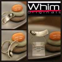 Sterling Silver Ring - Swoop 1 by whimoriginals