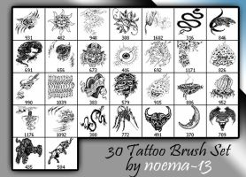 tattoo brush set 6 by noema-13