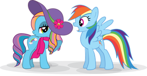 Rainbow Dash always dresses in style by MarinaPg