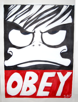 OBEY by PinkyFreak247