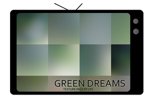 Texture Pack: Green Dreams by u-lys