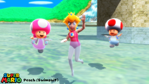(MMD Model) Peach (Swimsuit) Download by SAB64