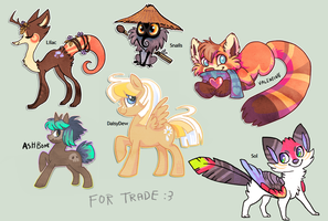 Old Characters TRADED by griffsnuff
