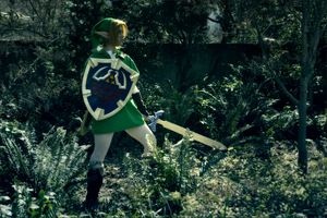 ocarina of time - link by fullmetal-punk