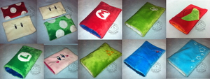 3DS and XL soft cases batch by Sunflowmon