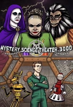 Mystery Science Theater 3000...2 by katebrezzy