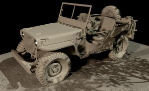 early willys jeep by maView