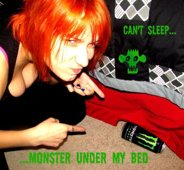 Monster under my bed.. by Moohhh