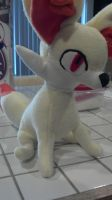 Fennekin Plush Version 2 by Chochomaru