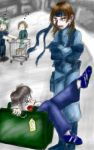 Snake And Otacon by thedeanna