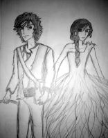 GALE AND KATNISS =) by ashdoh