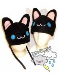 Black kitty hat by The-Cute-Storm