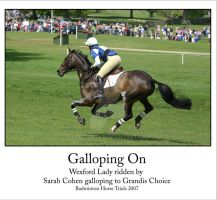 Galloping On by Scotston