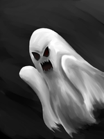 Ghost (Spooktober #1) by RichDoes