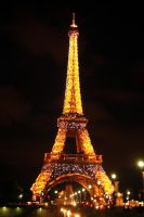 The Eiffel Tower by alkhanjari