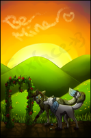 Happy Valentines Day Ayama and Nick by Foxface-x3